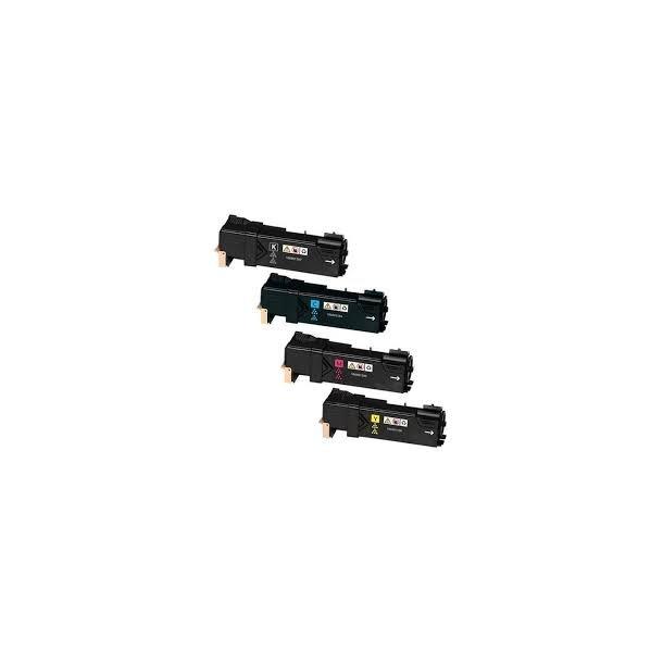 Xerox Phaser 6130 combo pack 4 stk lasertoner BK/C/M/Y 8200 sider
