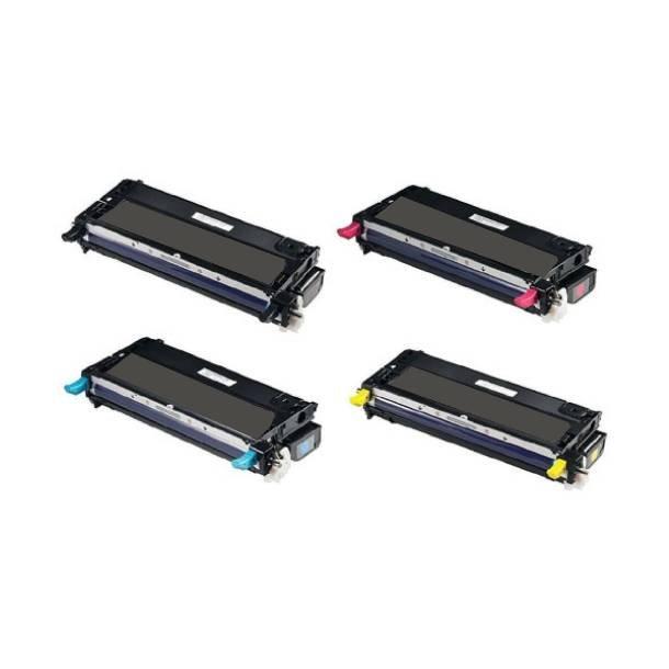 Xerox Phaser 6280 combo pack 4 stk lasertoner BK/C/M/Y 24700 sider