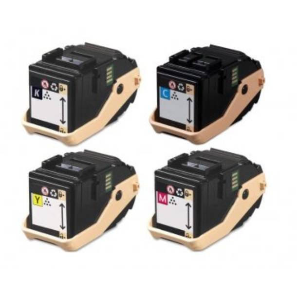 Xerox Phaser 7100 combo pack 4 stk lasertoner BK/C/M/Y 18500 sider