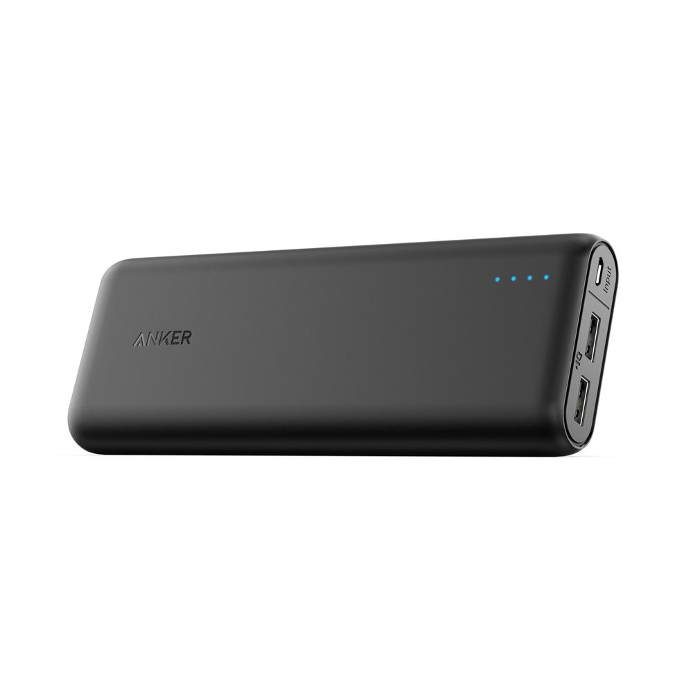 Image of Anker powerbank PowerCore 20100 mAh, Sort