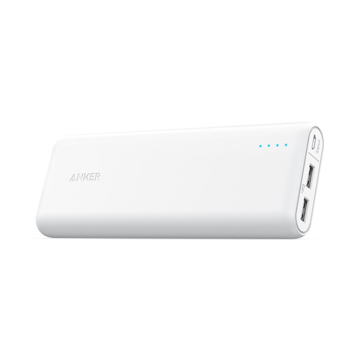 Image of Anker powerbank PowerCore 20100 mAh, Hvid