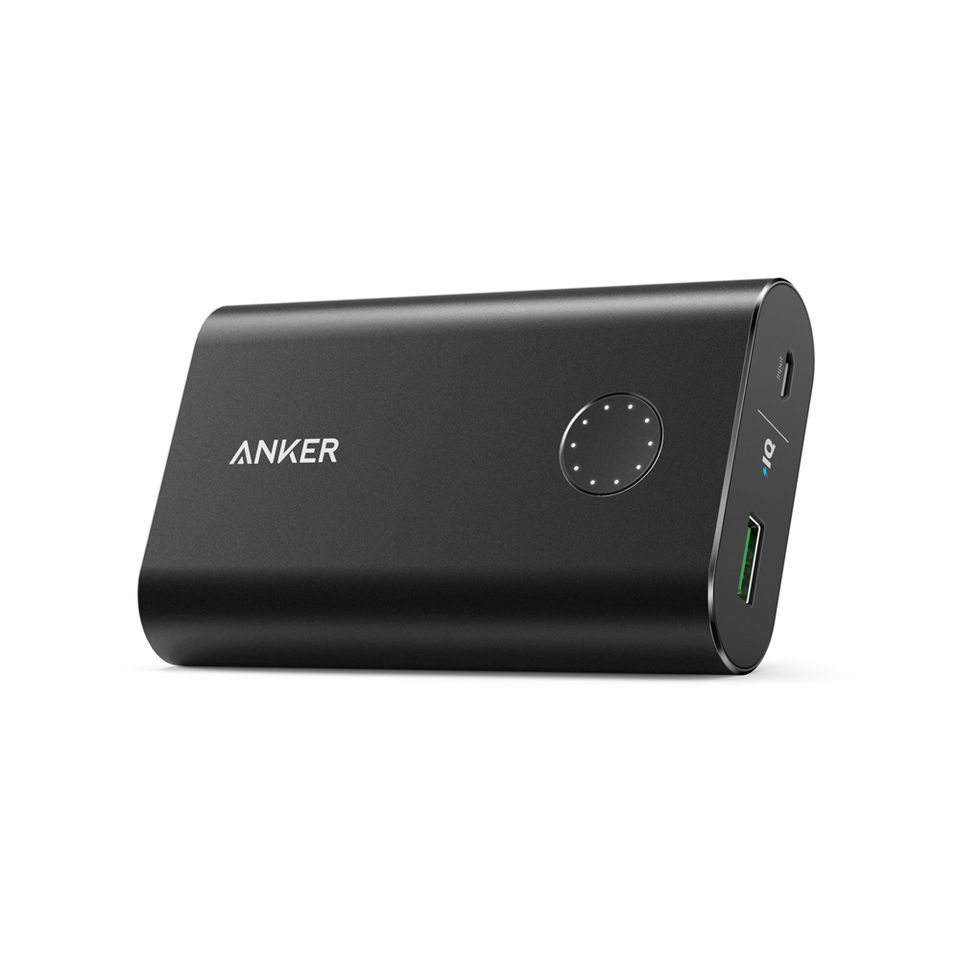 Image of Anker powerbank PowerCore+ 10050 mAh Quick Charge 3.0, Sort