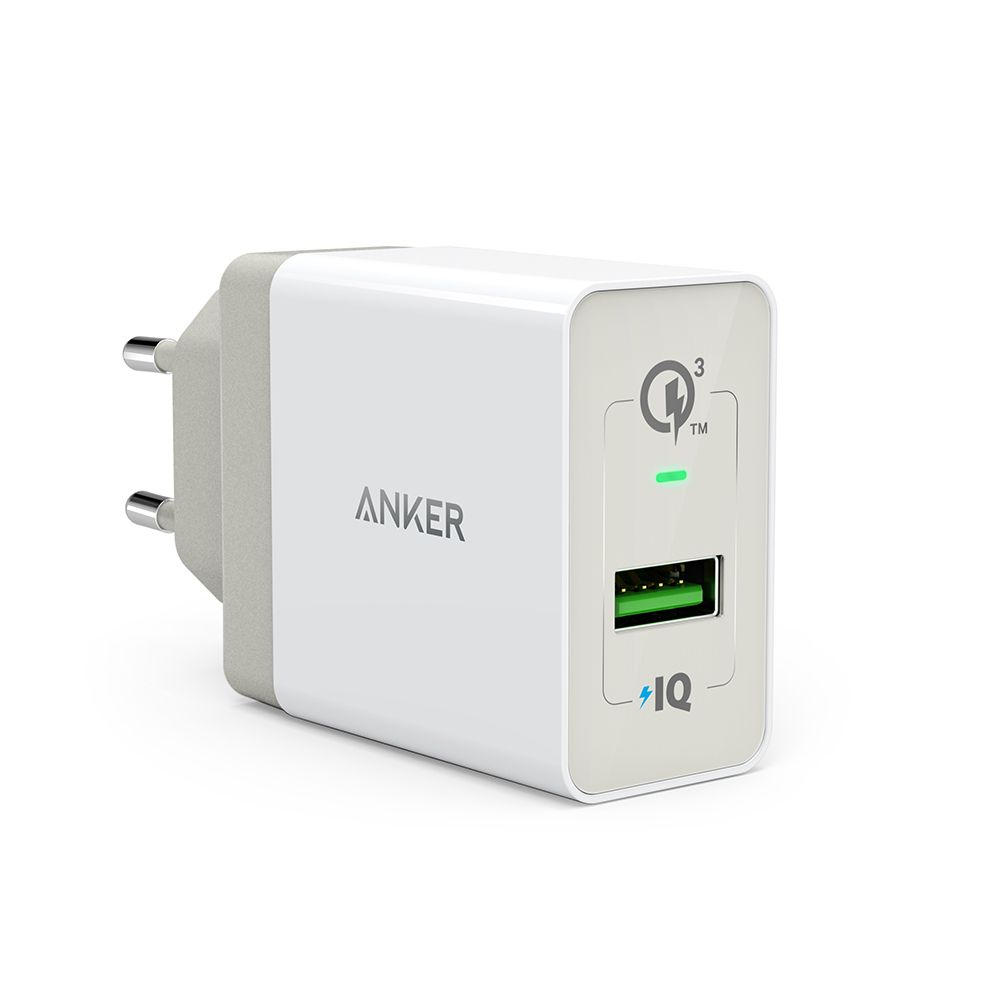 Image of Anker PowerPort+ 1 powerbank med Quick Charge 3.0, Hvid