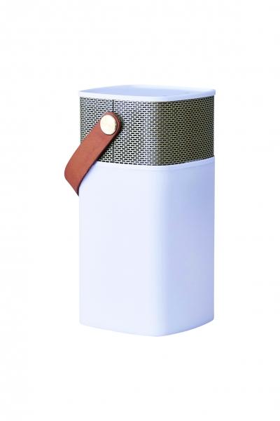 Image of   Kreafunk aGLOW, hvid m. guld front, Bluetooth 2.1 speaker