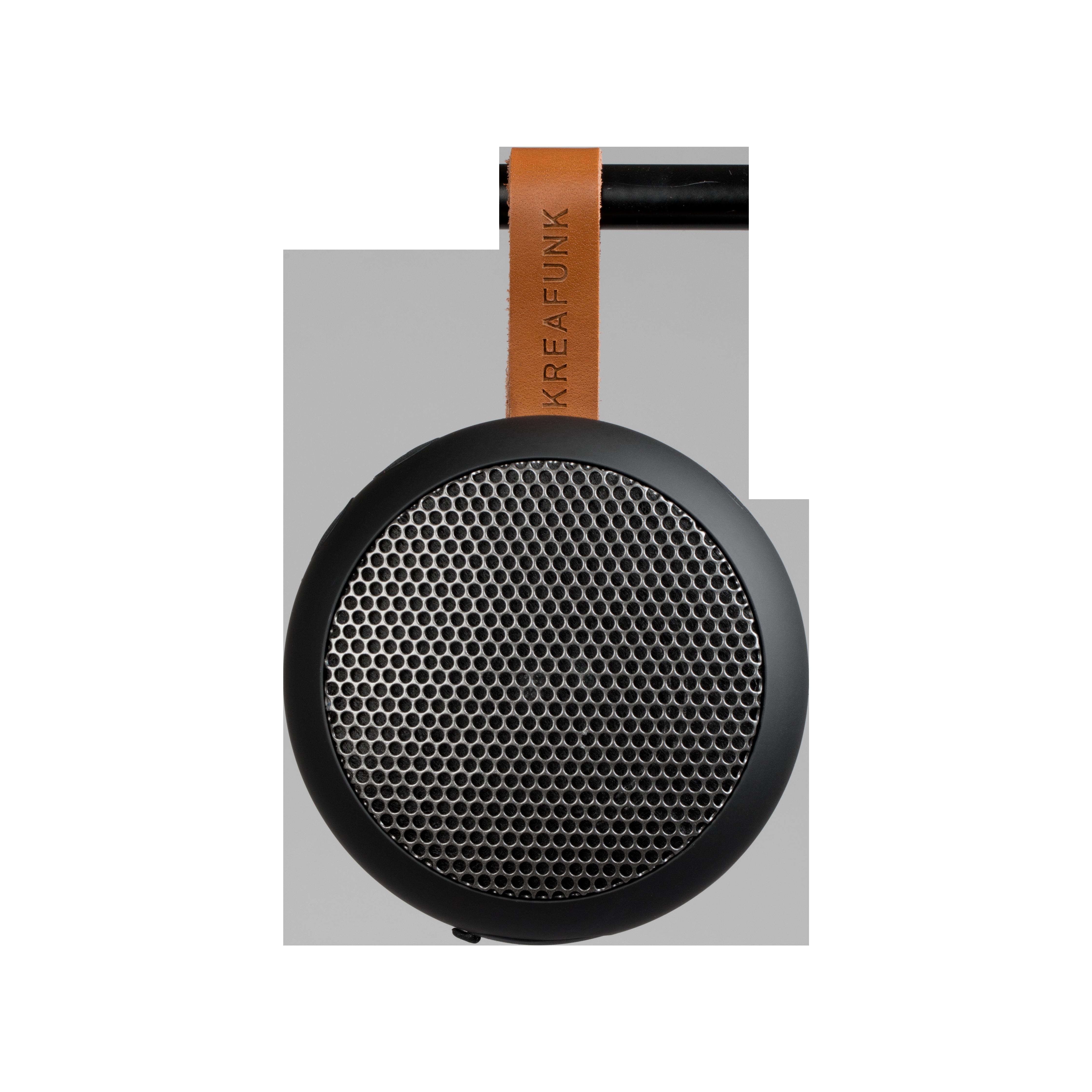 Kreafunk aGO Bluetooth högtalare, black edition