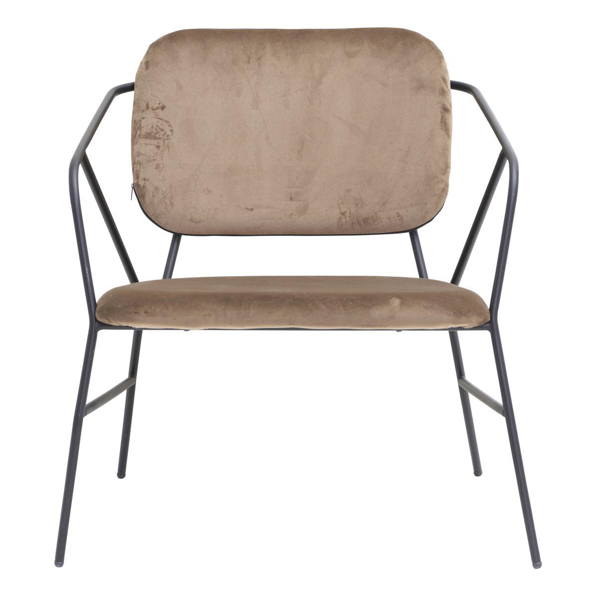 Image of   House Doctor Lounge stol, Klever, Brun