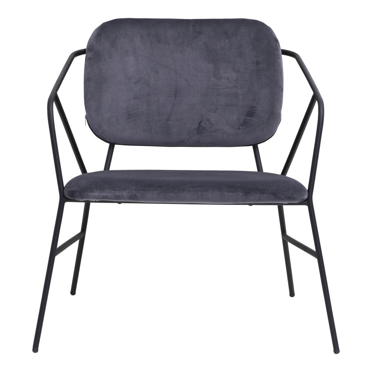 Image of   House Doctor Lounge stol, Klever, Grå