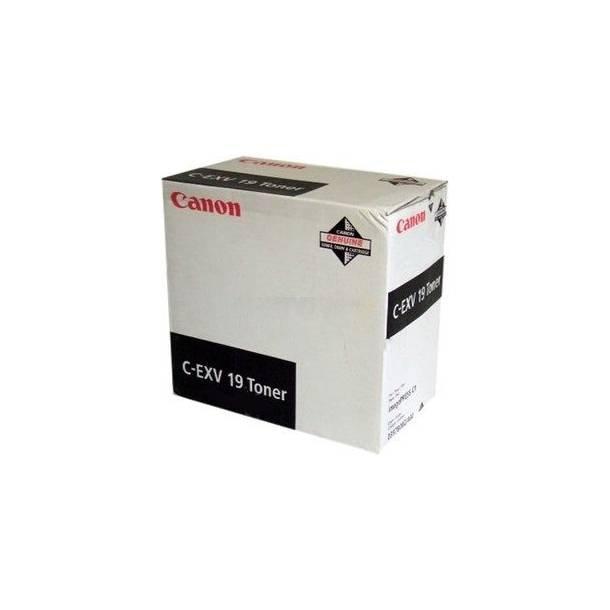 Canon C-EXV 19 BK 0397B002 sort toner,