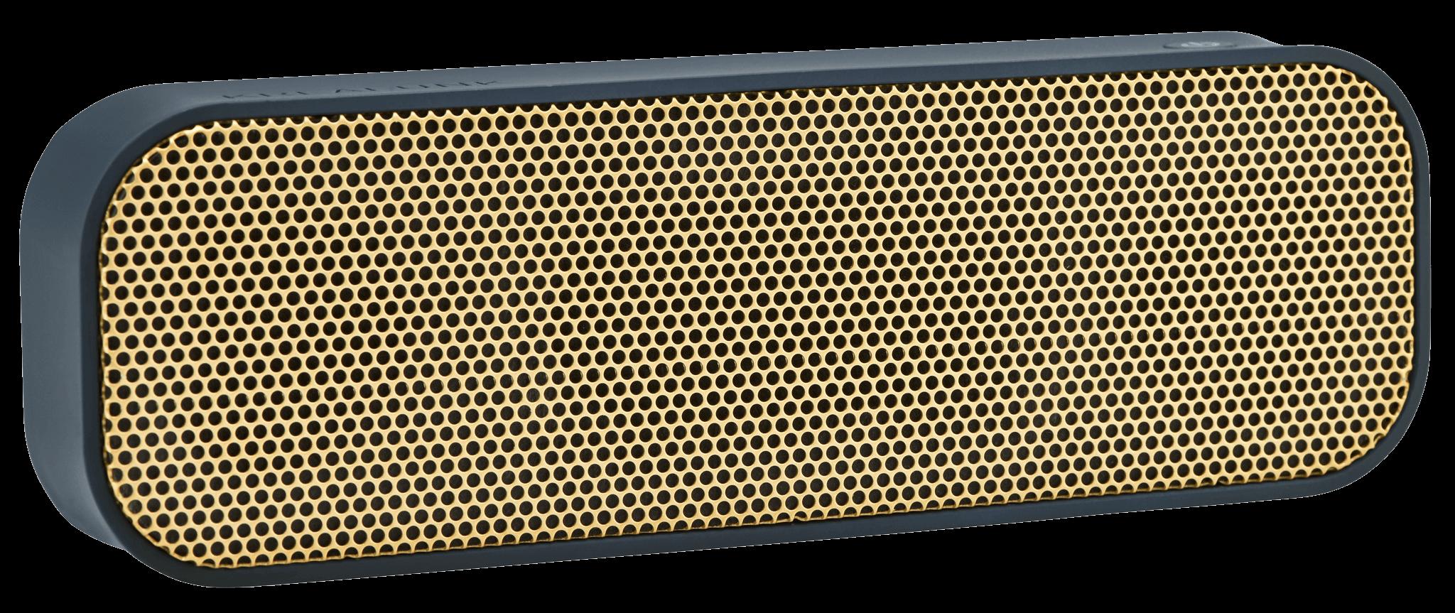 Kreafunk aGROOVE, m. guld front, Bluetooth 3.0. flera färger Blå