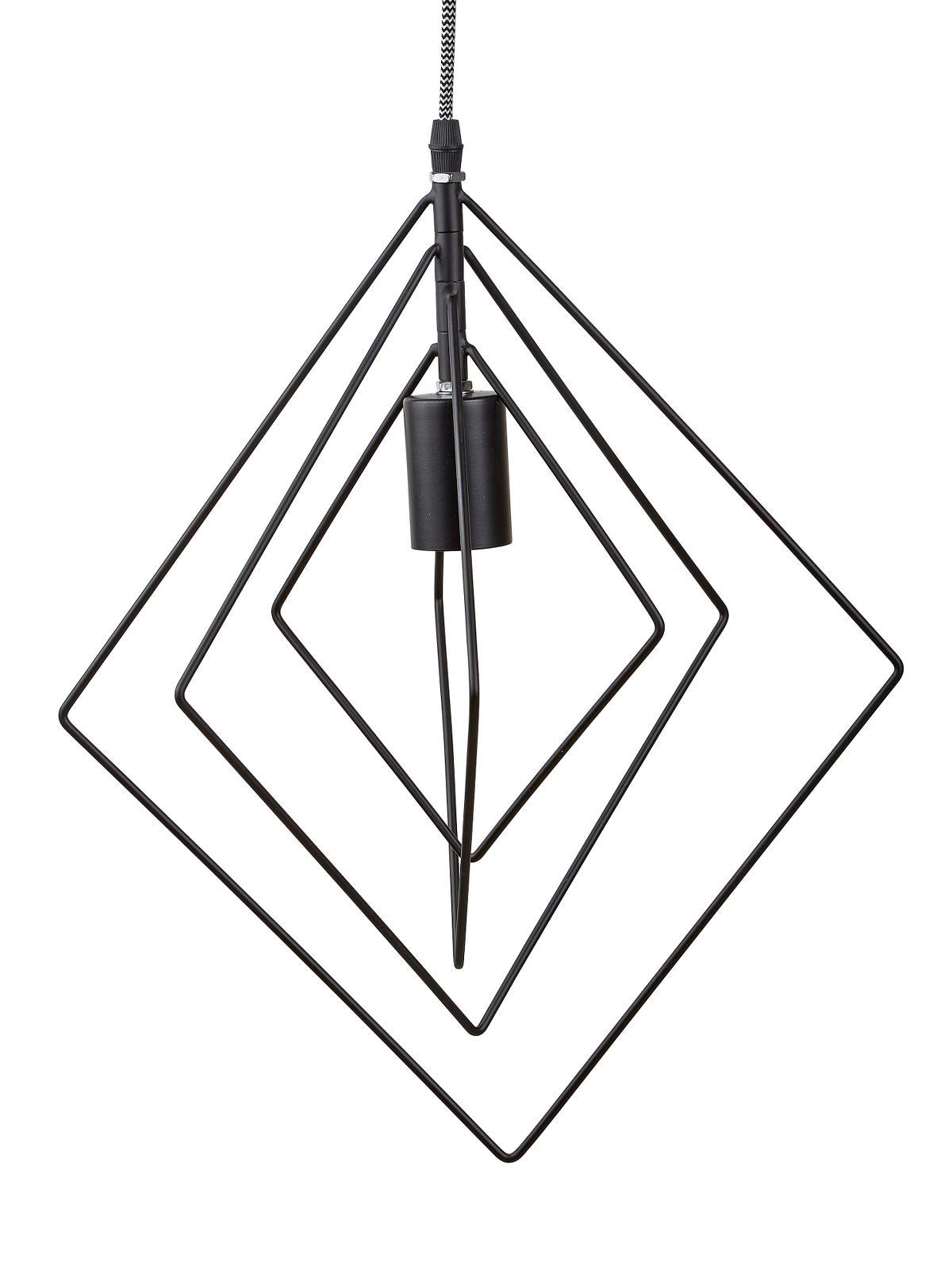 Villa Collection Lampe Metal / Sort D 40 cm