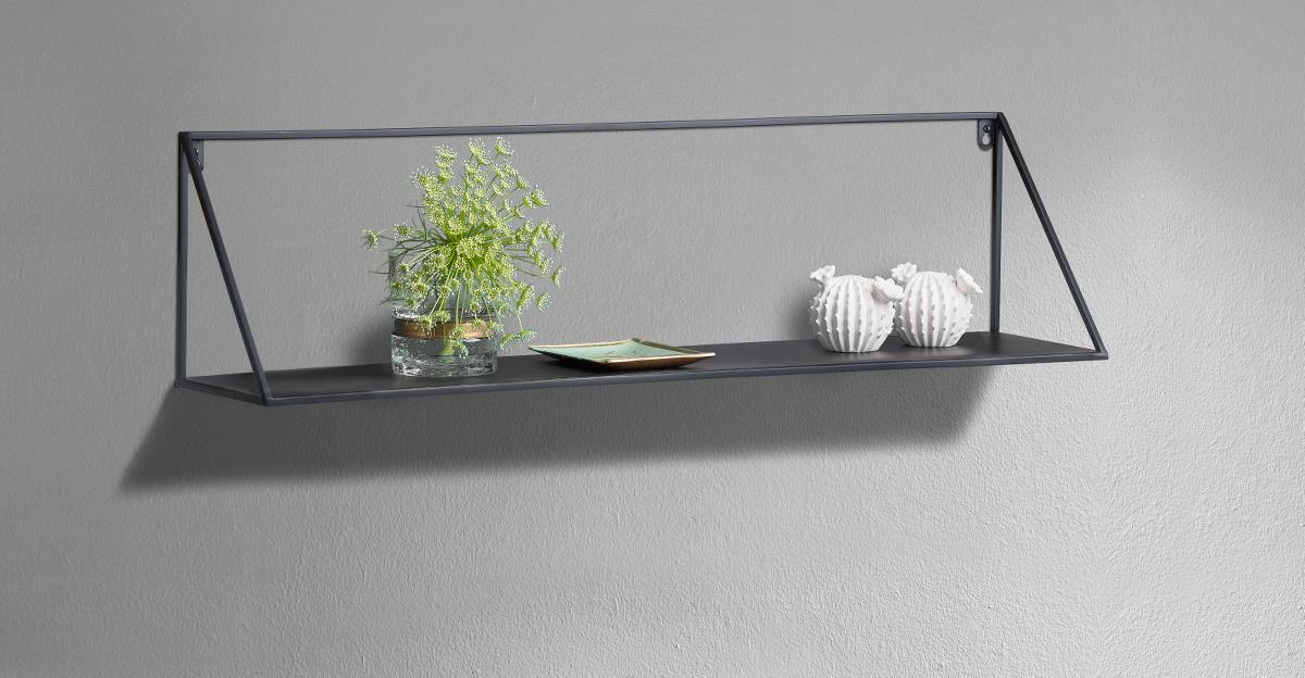 Nice Villa Collection 80cm metal hylde - Pixojet.dk UZ03