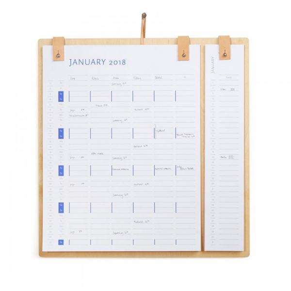 Image of   by Wirth Planner Board kalender 2020+2021
