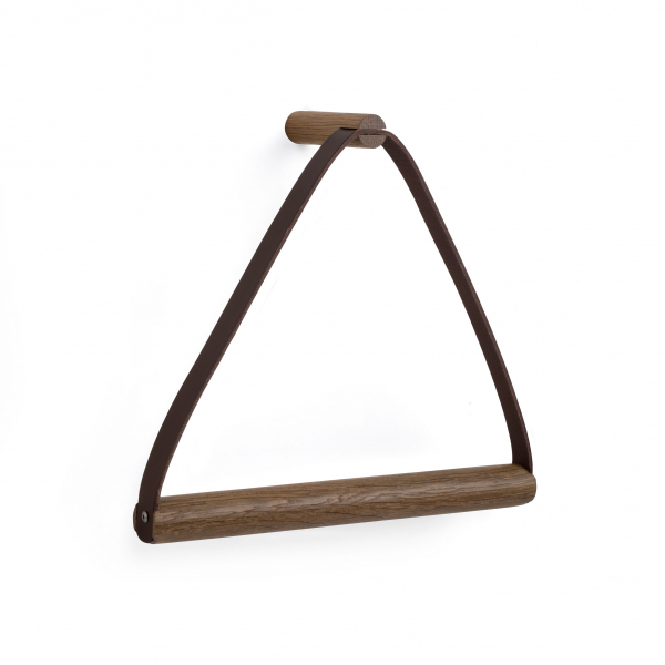 Image of by Wirth Towel hanger håndklædeholder / smoked