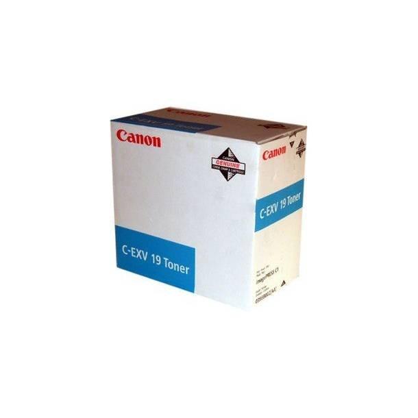 Canon C-EXV 19 C 0398B002 cyan toner,