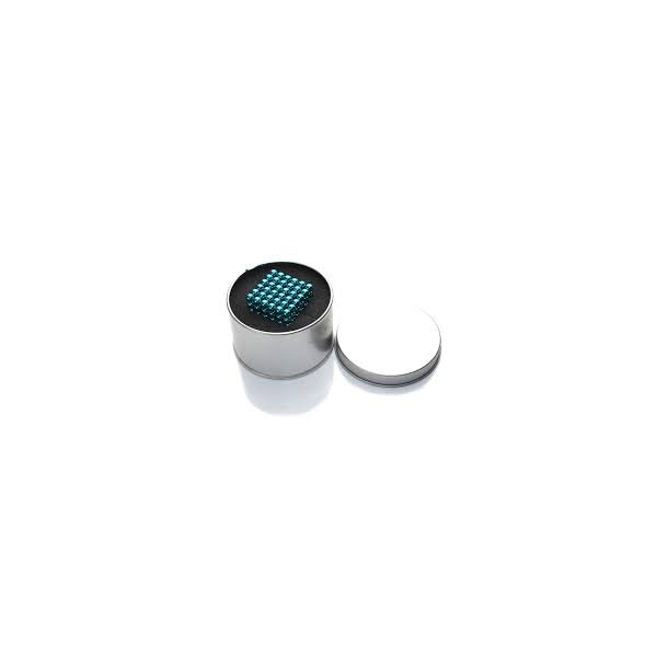 Neocube (216 balls, 5 mm) Lys blå