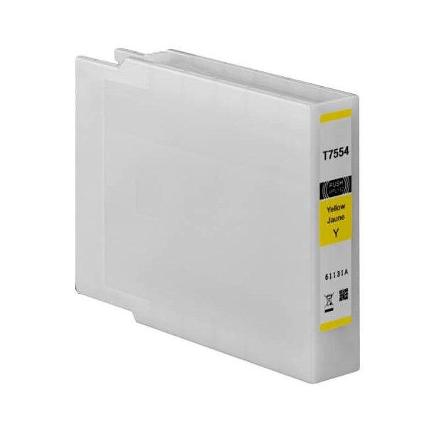 Epson T7554 gul blækpatron 62 ml C13T755440