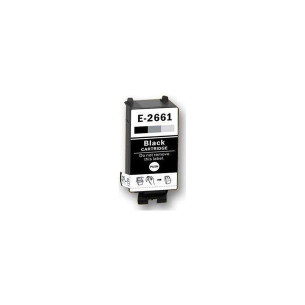 Epson 266 BK – C13T26614010- Sort 11,5 ml