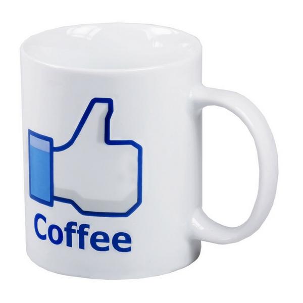 Image of   Facebook-krus Kaffe