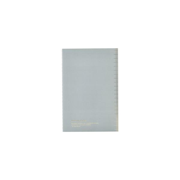 Image of   House Doctor Monograph Notesbog, Soft, Blå A5, prikket papir, 40 sider