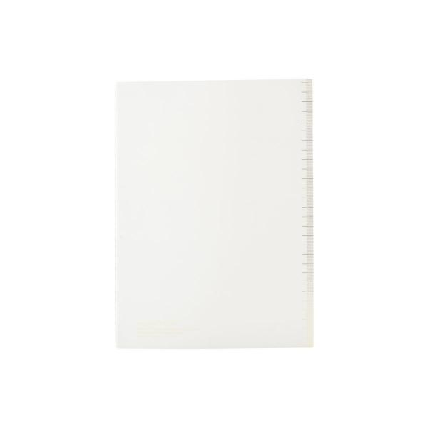 Image of   House Doctor Monograph Notesbog, Soft, grå, A4, linjeret papir, 40 sider