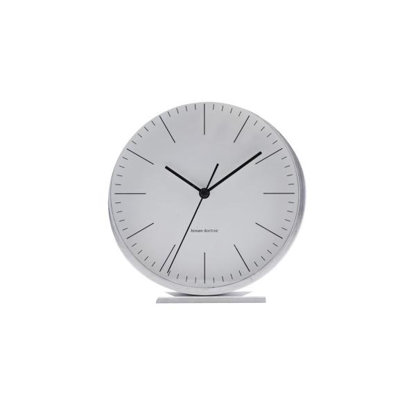 Image of   House Doctor Alarm Ur, Le, Sølv, dia: 9,2 cm