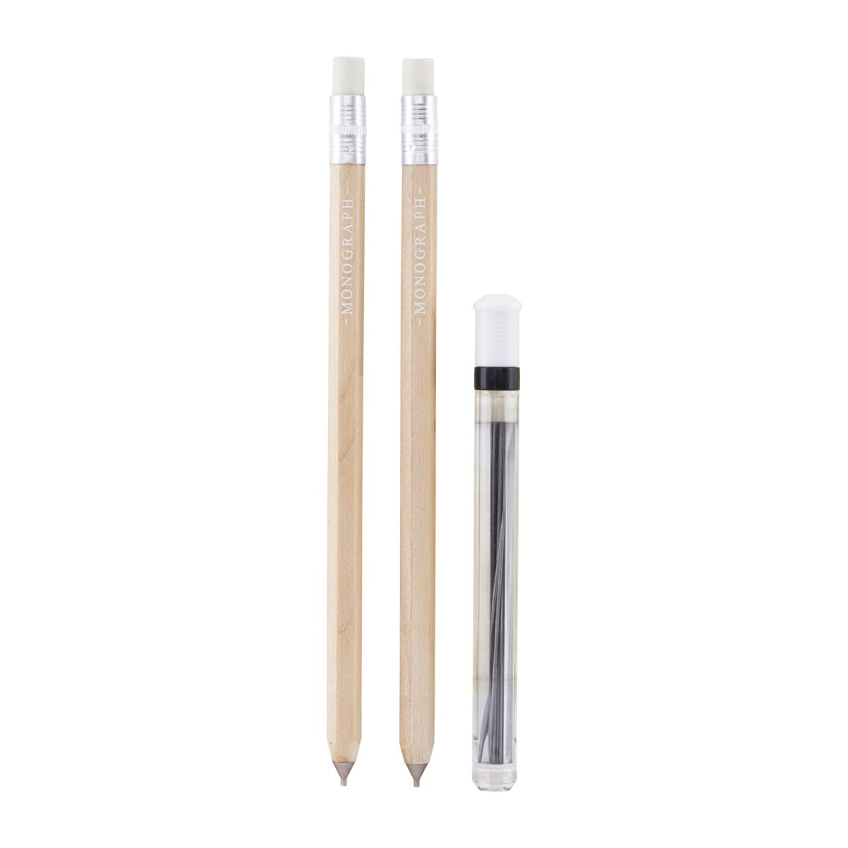 Image of   House Doctor Monograph Stiftblyant, Wood, stift 0,5 mm, 2 stk.