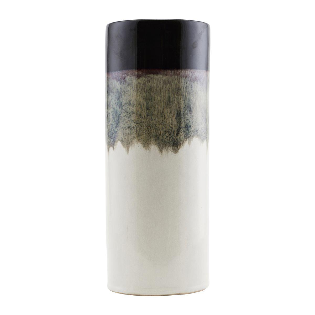 House Doctor Vase, Eng, Mokka, dia: 10 cm, h: 26 cm
