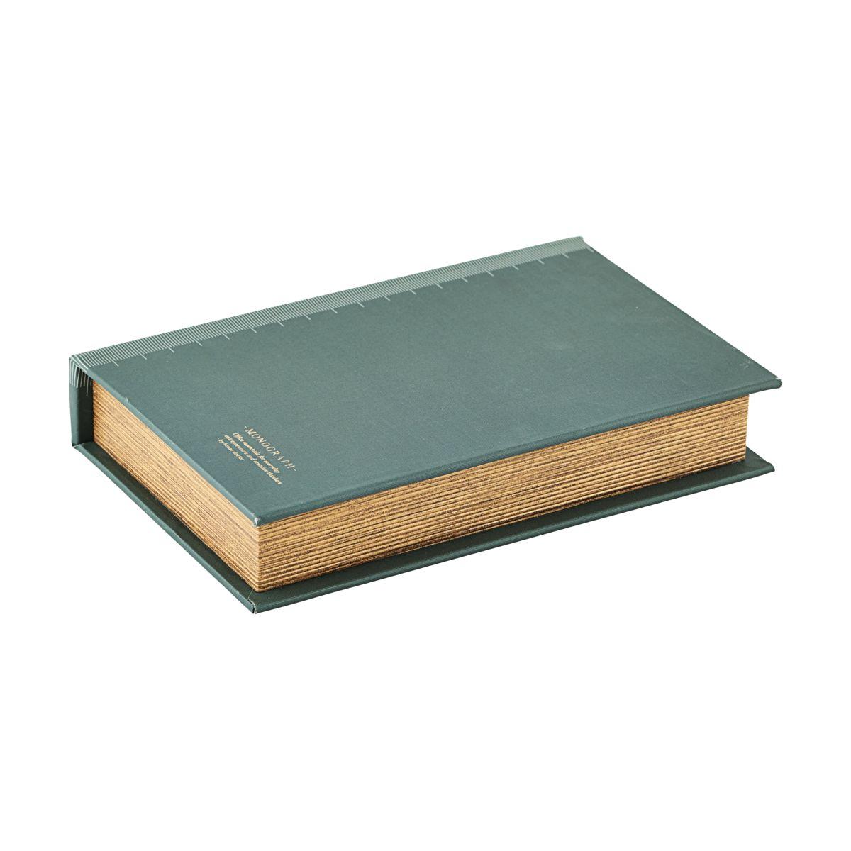 Image of   Monograph Opbevaring/bog, Ruller, grøn, 26x17x5 cm