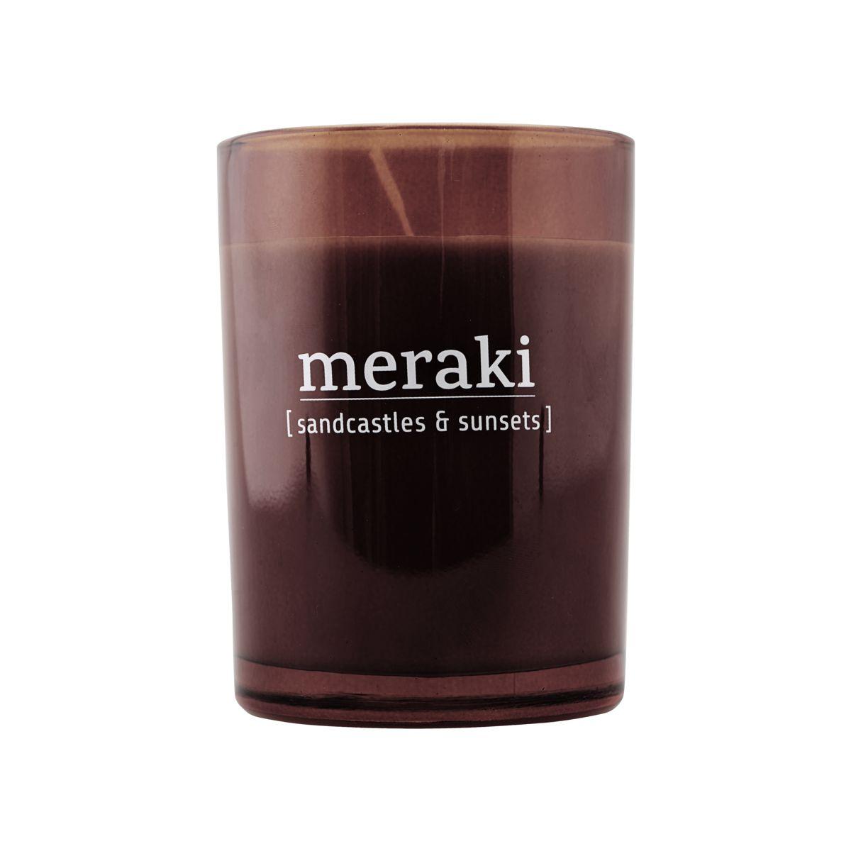 Image of   Meraki Duftlys Sandcastles & Sunsets dia.: 8 cm, h.: 10.5 cm