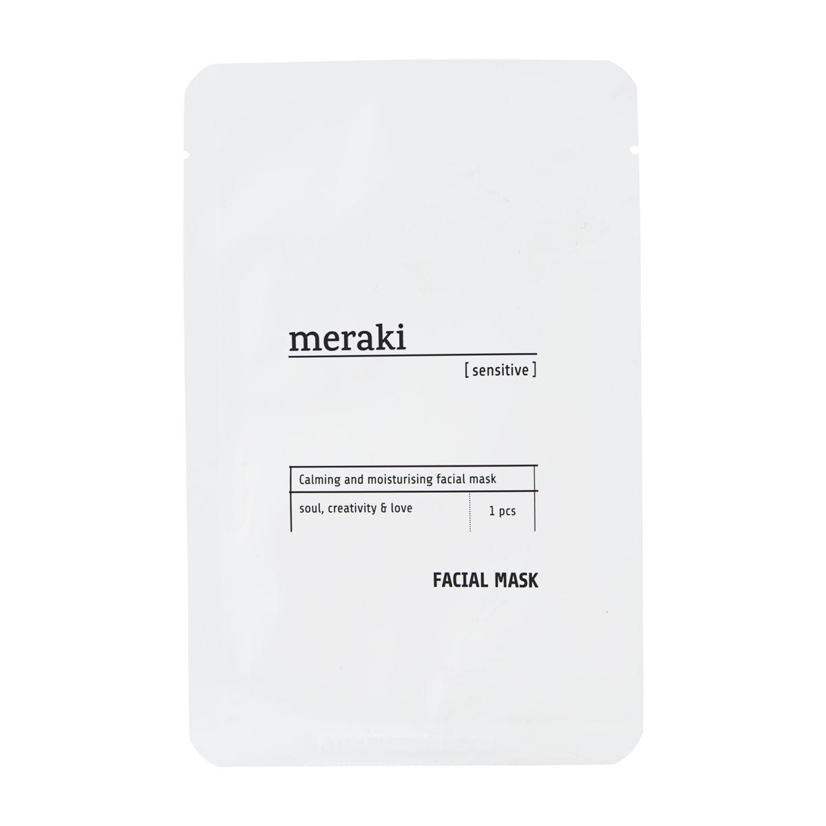 Image of   Meraki ansigtsmaske, sensitive, 1 stk./Pk