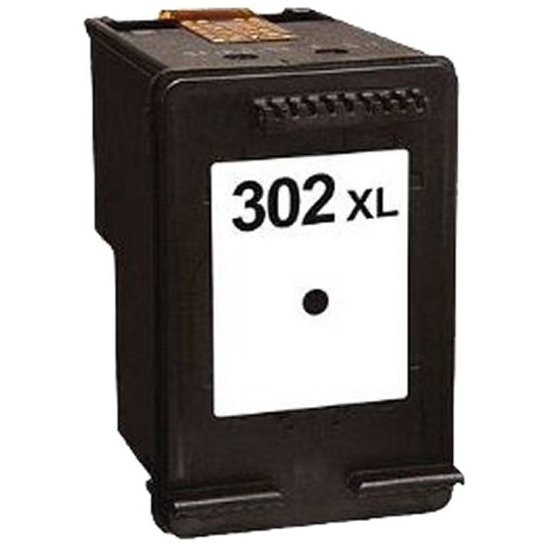 HP 302 XL BK sort blækpatron (20 ml)