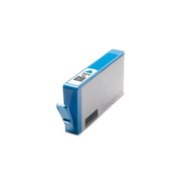 Kompatibel HP 364 XL CB323EE Cyan bläckpatron med 15 ml