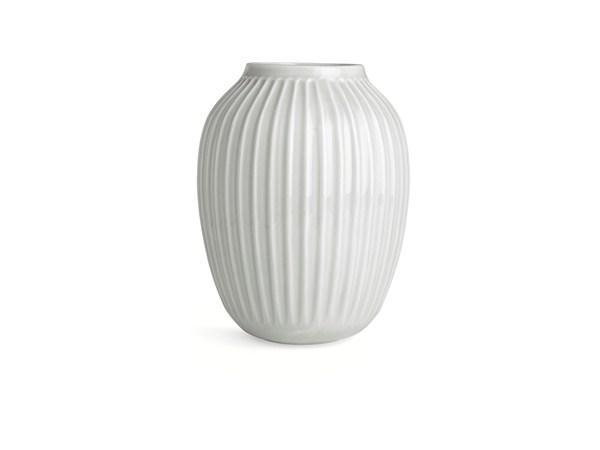 Kähler Hammershøi Vase Dia. 20 x 25,0 cm hvid