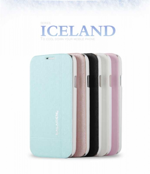 Kalaideng Iceland II lædercover, Samsung Galaxy S5 Samsung Galaxy S5 Hvid