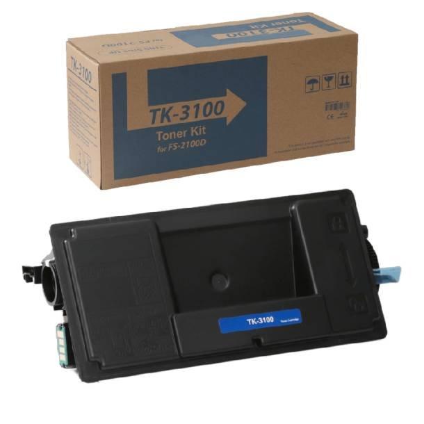 Kyocera TK-3100 BK lasertoner – 1T02MS0NL0  – Sort 12500 sider