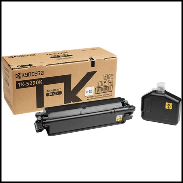 Kyocera TK-5290 BK lasertoner – 1T02TX0NL0  – Sort 17000 sider