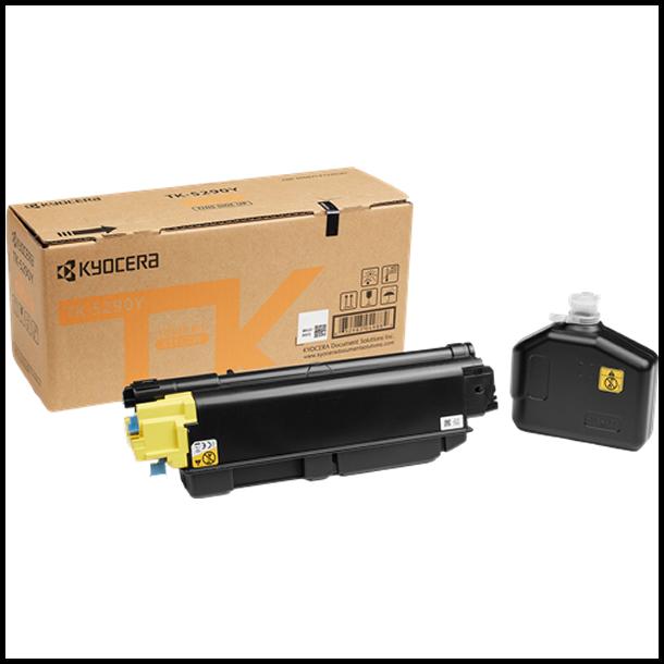 Kyocera TK-5290 Y lasertoner – 1T02TXANL0  – Gul 13000 sider