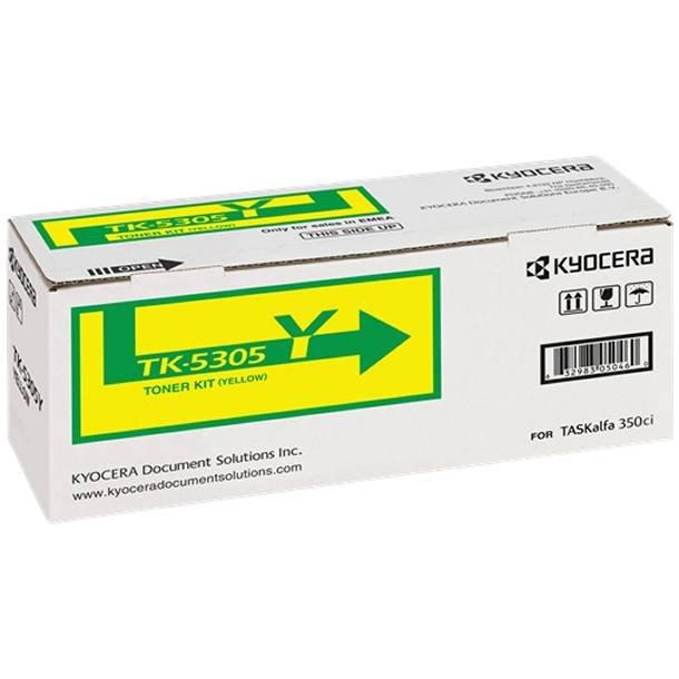 Kyocera TK-5305 Y lasertoner – 1T02VMANL0  – Gul 6000 sider