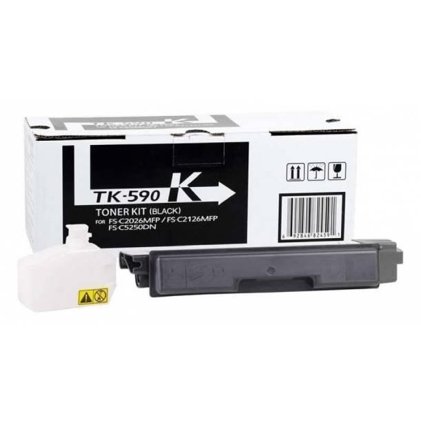 Kyocera TK-590 BK lasertoner – 1T02KV0NL0  – Sort 7000 sider