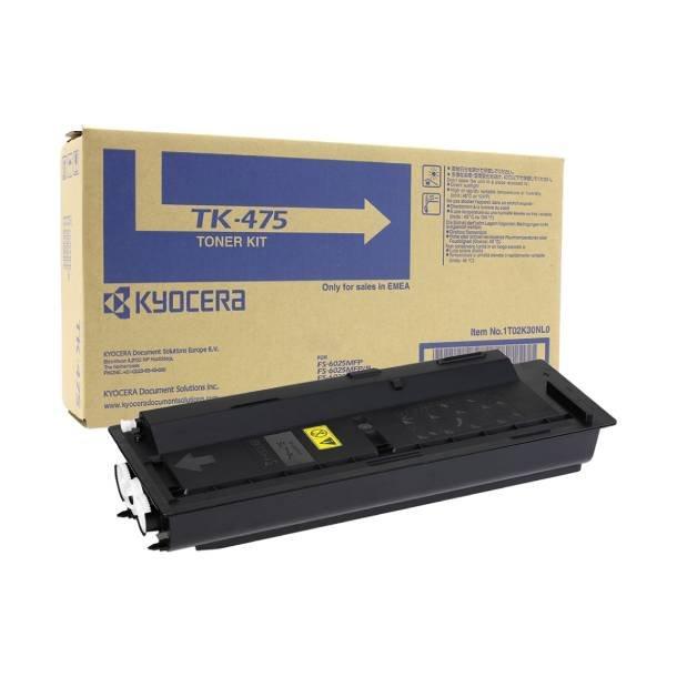 Kyocera TK-475 BK lasertoner – 1T02K30NL0  – Sort 15000 sider