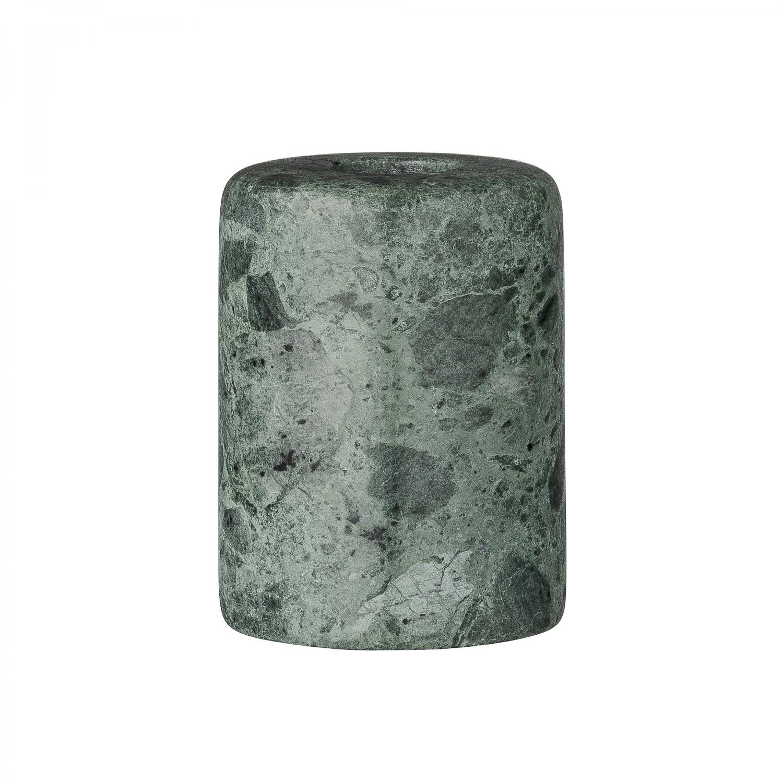 Image of   Bloomingville Lysestage (Grøn Marmor)