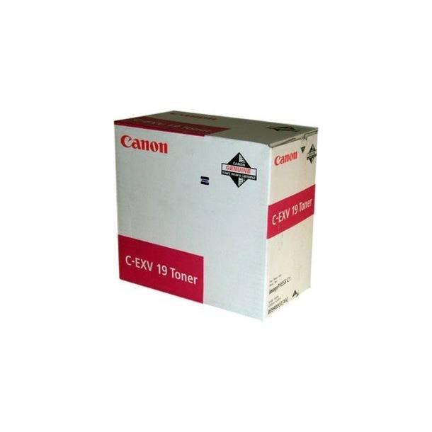 Canon C-EXV 19 M 0399B002 magenta toner,