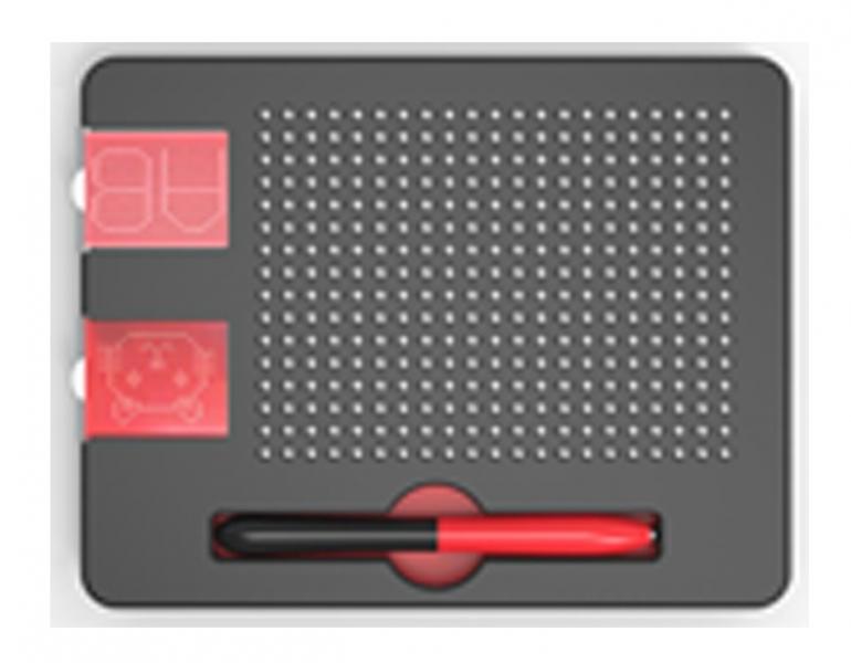 Image of   Magnetisk tegnetavle, 21x16 kugler