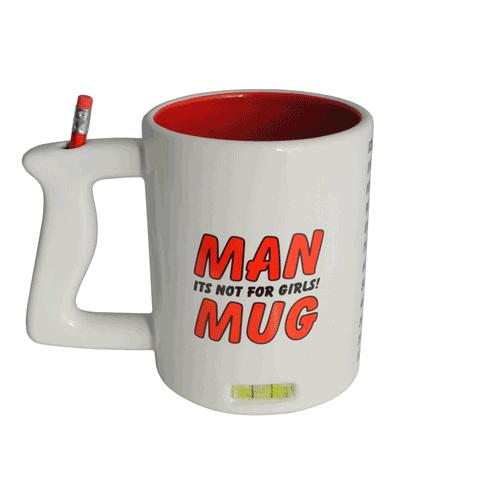 Billede af Mande-krus, Man Mug, Stor
