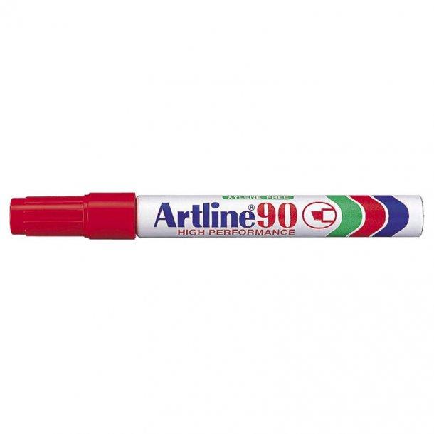 Artline Marker 90 5.0 röd, 12 st