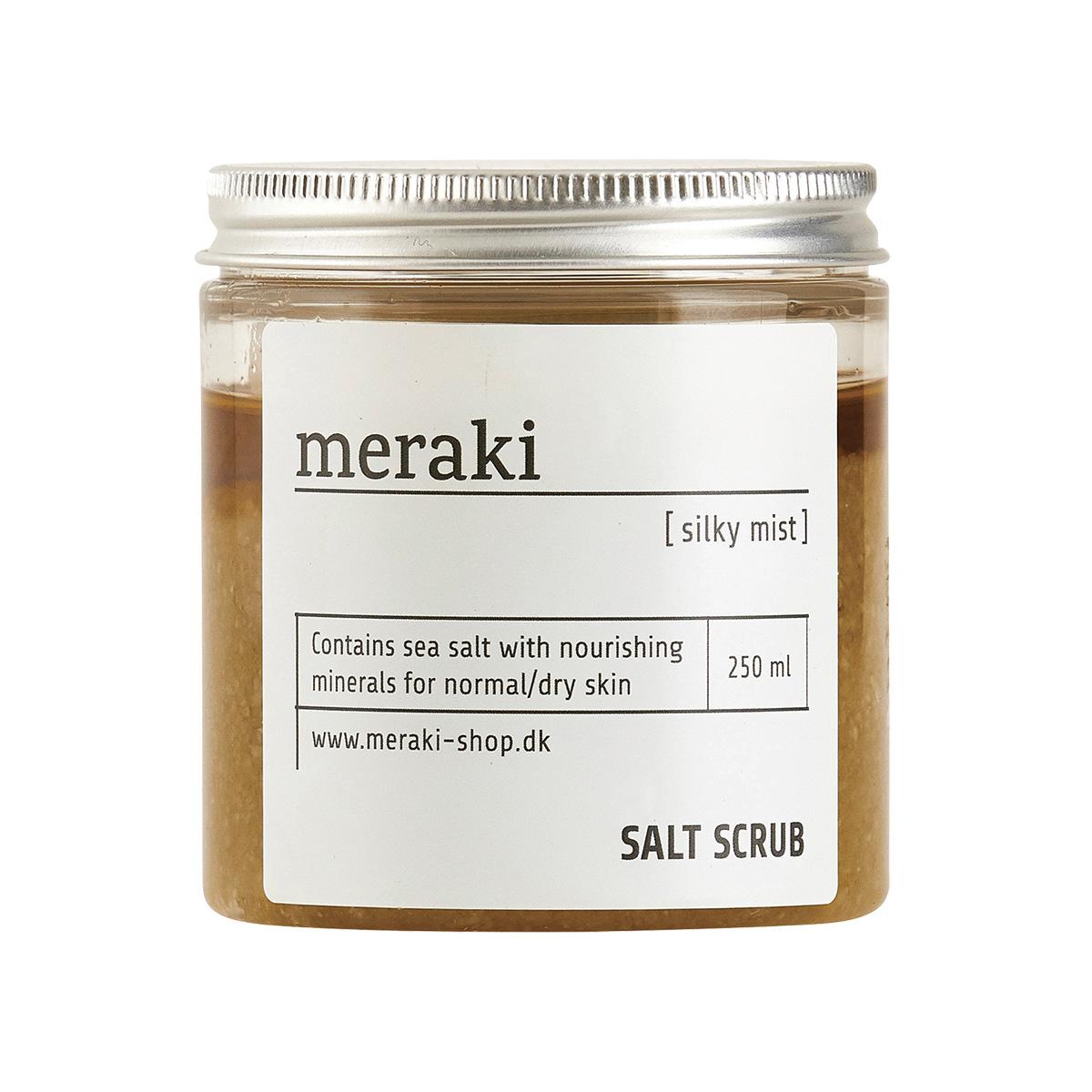 Image of   Meraki Saltskrub, Silky mist, 250 ml.