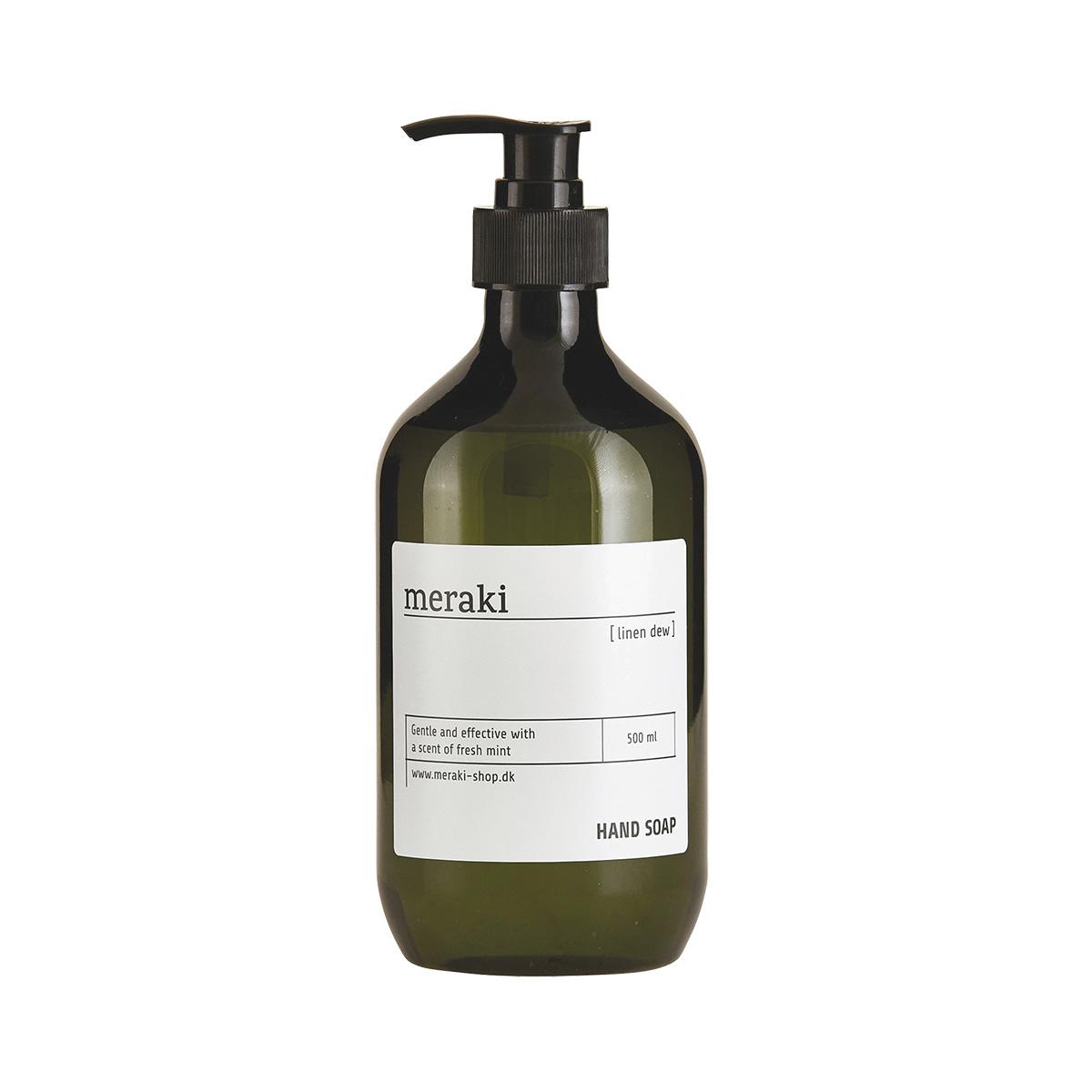 Image of   Meraki Håndsæbe, Linen dew, 500 ml.