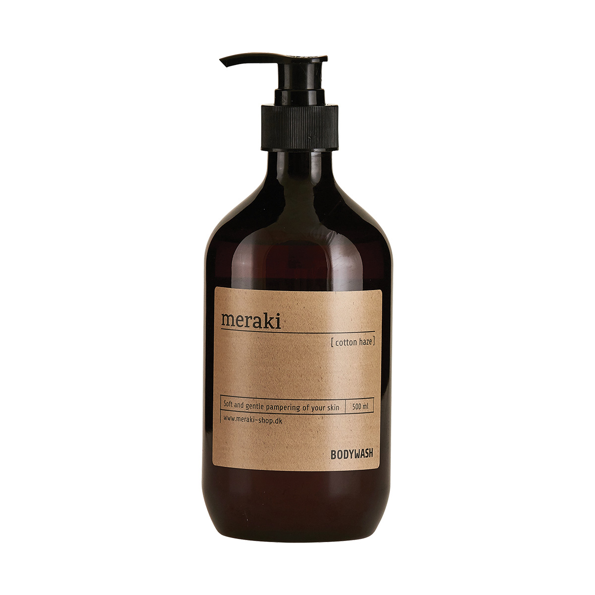 Image of   Meraki Body wash, Cotton haze, 500 ml.