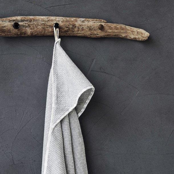 Baby handduk, Meraki mini, Grå, 100% ekologisk bomull, 80 x 80 cm