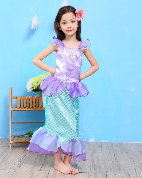 Image of   Kostumer til piger M mermaid